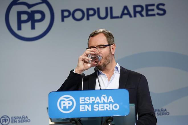 """Actualidad Actualidad Maroto reprocha a Barberá su falta de """"dignidad"""" y Rivera insta a Rajoy a que le pida """"públicamente"""" el escaño"""