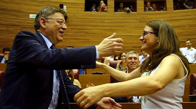 Actualidad Actualidad El TSJ valenciano condena a Puig y Oltra por obstruir la labor parlamentaria